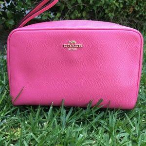 F24797 Leather Multi Purpose Bag / Cosmetic Bag
